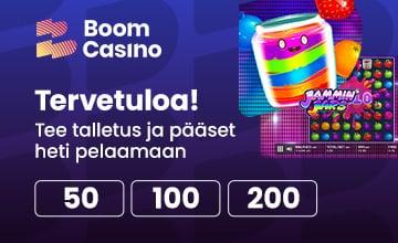 Boom Casino - Lunasta Bonus