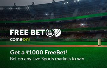 comeon sport free bet