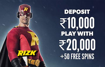 Rizk Sports Welcome Bonus