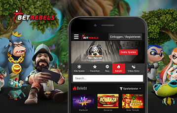betrebels casino mobile