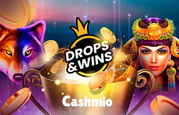 cashmio casino drops