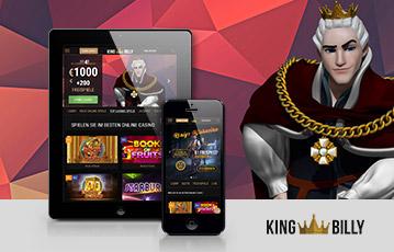 King Billy Casino app