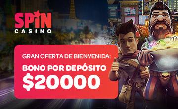 Spin Casino - ¡Inscríbete y recibe un bono!