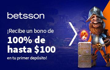Betsson bono casino online