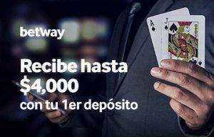 Betway bono casino online