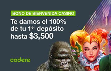Codere bono casino online
