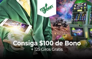 Mr Green bono bienvenida casino online