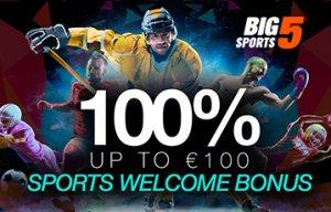 Big5 bono apuestas deportivas
