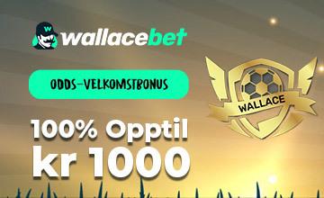 Wallacebet - Sikre deg en bonus!