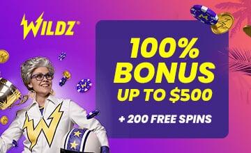 Wildz - Claim Your Bonus Now!