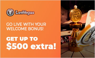 Leo Vegas - Claim Your Bonus Now!