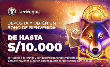 LeoVegas - ¡Inscríbete y recibe un bono!