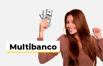 Multibanco Mulher Dinheiro