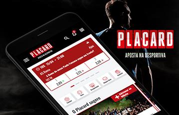 Placard Sports Usabilidade Mobile Home