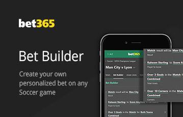 bet365 sport bet builder