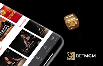 betMGM mobile casino