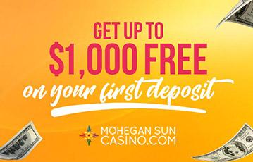 Mohegan Sun Casino Bonus