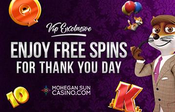 Mohegan Sun Casino Free Spins US