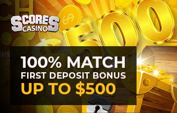 Scores Casino Bonus