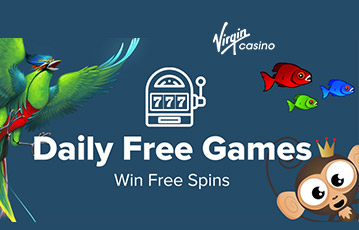 Virgin casino free spins
