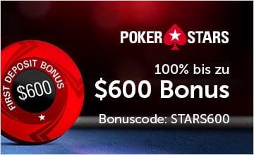 Pokerstars - Jetzt Bonus sichern