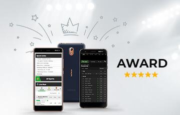 Die besten Sportwetten Apps smartphones Bildschirm Ansicht mit App