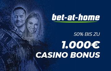 Der beste Bet at Home online Casino Bonus Illustration Roulette Gesicht Mann Frau