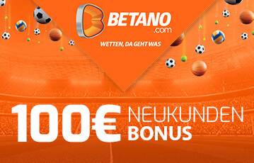 Der beste Online Sportbonus Betano 100 Euro Neukunden Bonus Illustration Stadion Fussbälle