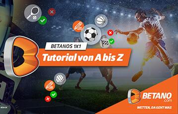 Die besten Online Sportwetten Betano Tutorial A bis Z Fussballspieler Illustration Fussball Tennisschläger Handball