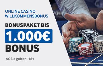 der beste Online Casino Bonus Betway Bonuspaket 1000 Euro Willkommensbonus Hände Pokerchips