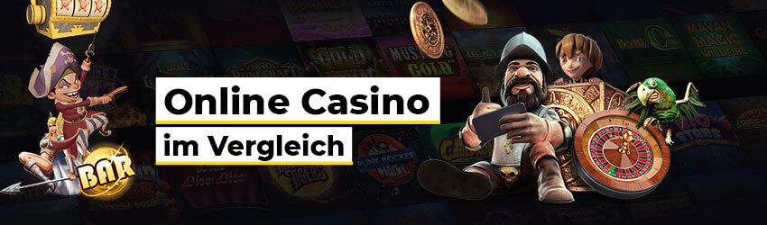 Die besten Online Casino Spiele im Vergleich Illustration Spielfiguren Pirat Roulette Papagei