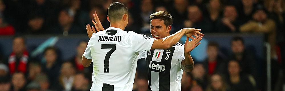 Die besten Online Sportwetten Fussball Fussballspieler Juve Ronaldo