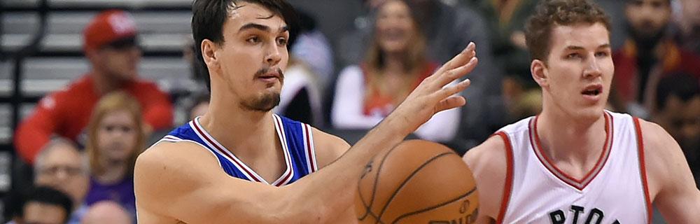 Die besten Online Sportwetten National Basketball Association NBA-Spieler im Spiel Publikum im Hintergund