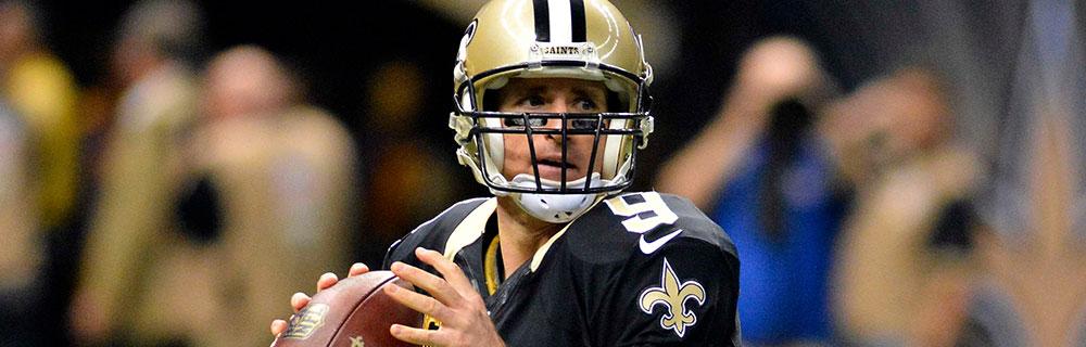 Die besten Online Sportwetten Close-up NFL-Spieler mit Ball in der Hand