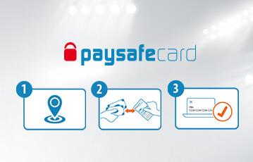 Die besten Online Wetten paysafecard Illustration Erläuterung Benutzung