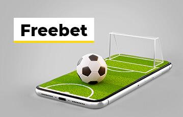 Die besten gratis Livewetten online Fussballfeld mit Fussball und Tor 3D auf smartphone freebet