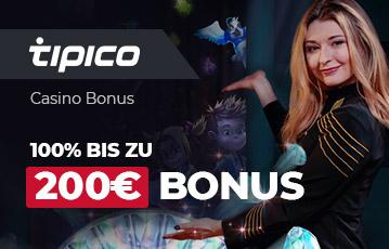 Der beste Online Casino Bonus titpico 200 Euro Bonus lächelnde Frau Pose Präsentation Spielefiguren