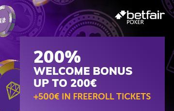 Der beste Online Poker Bonus call to action 200 Euro Willkommensbonus Illustration Pokerchips betfair poker