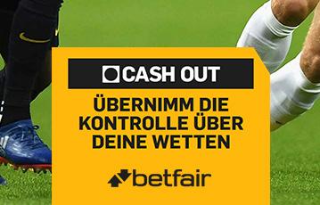 Die besten Online Sportwetten Close-up Fussballspieler Beine Rasen call to action cash out betfair