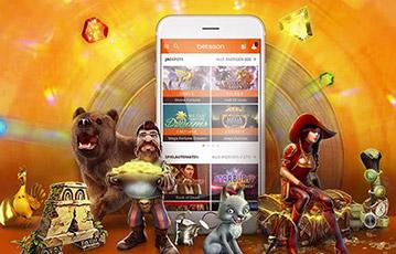 Die besten Online Casino Spiele smartphone und Spielefiguren Bär Ritter Fuchs