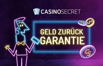 Die besten Casino Spiele Online Illustration Leuchtreklame Croupier Münzen wording Geld zurück Garantie