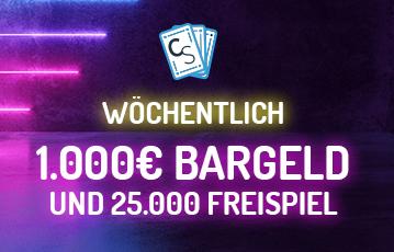 Die besten Online Casino Spiele freepins call to action 1000 Euro Bargeld 25.000 Freispiele