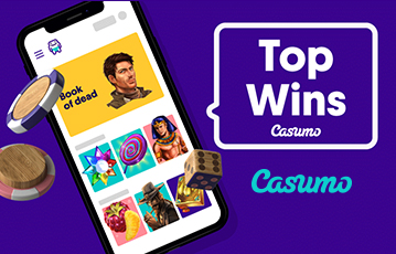 Die besten Online Casino Spiele Illustration smartphone screen casumo Pokerchips Würfel