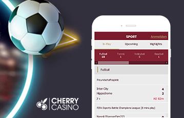Die besten Online Sportwetten cherry casino Illustration Fussball und smartphone screen Fussball Tabelle