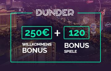 Der beste Online Sportwettenbonus Dunder 250 Willkommens Bonus Stadtansicht Casino Gaming