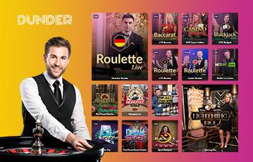 Die besten Casino Online Spiele Spieleauswahl bei dunder Croupier am Roulette