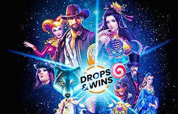 Die besten Online Spiele Casinos drops and wins guts Illustration Spielecharaktere Universum