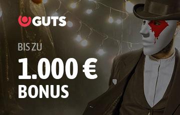 Der beste Online Pokerbonus guts bis zu 1000 Euro 3d Charakter Maske Poker