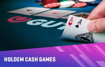 Die besten Online Casino Spiele Poker holdem cash games guts Pokertisch Ansicht Hand Pokerkarten Asse