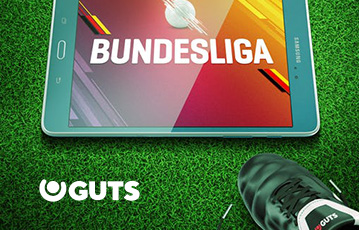 Die besten Sportwetten Online bei guts Close-up Rasen Fussballschuh tablet mit Bundesliga Grafik